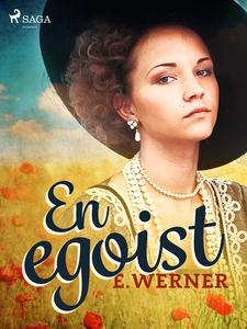 En egoist (e-bok) av E. Werner