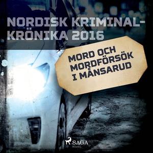 Mord och mordförsök i Månsarud (ljudbok) av Div