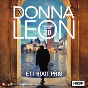 Ett högt pris (ljudbok) av Donna Leon