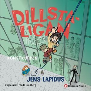 Dillstaligan: Konstkuppen (ljudbok) av Jens Lap