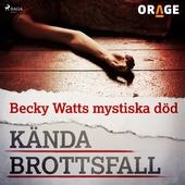 Becky Watts mystiska död