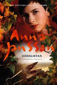 Dödslistan (e-bok) av Anna Jansson