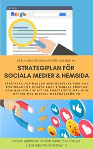 Strategiplan för sociala medier och hemsida (e-