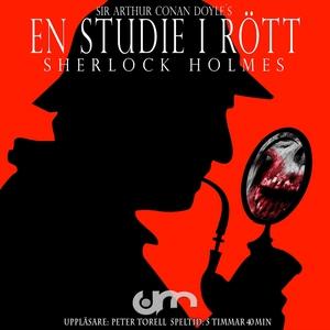 En studie i rött (ljudbok) av Sir Arthur Conan