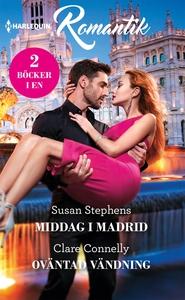 Middag i Madrid/Oväntad vändning (e-bok) av Sus