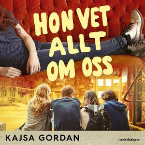 Hon vet allt om oss (ljudbok) av Kajsa Gordan
