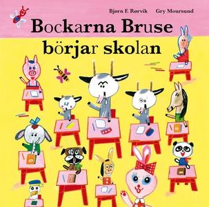 Bockarna Bruse börjar skolan (ljudbok) av Bjørn