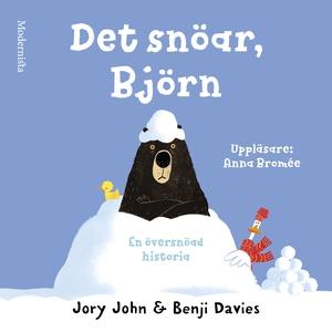 Det snöar, Björn (ljudbok) av Jory John