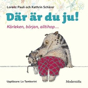 Där är du ju! (ljudbok) av Lorenz Pauli