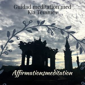 Affirmationsmeditation (ljudbok) av Kia Temmes