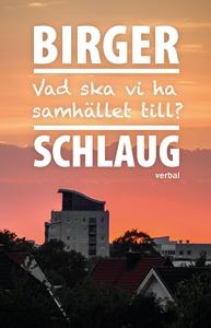 Vad ska vi ha samhället till? (e-bok) av Birger