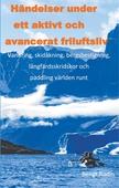 Händelser under ett aktivt och avancerat friluftsliv: Vandreing, skidåkning, bergsbestigning, långfärdsskridskor och paddling välden runt