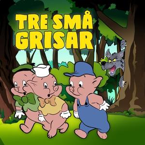 Tre små grisar (ljudbok) av