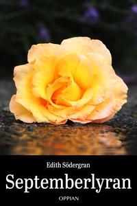 Septemberlyran (e-bok) av Edith Södergran