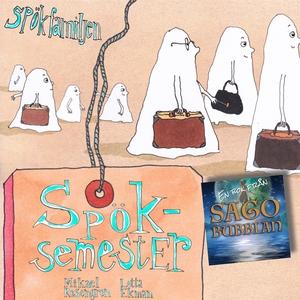 Spökfamiljen : Spöksemester (ljudbok) av Mikael