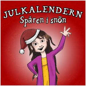 Julkalendern - Spåren i snön (ljudbok) av Staff