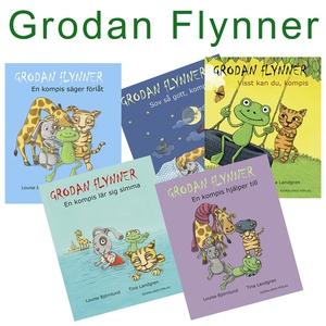 Grodan Flynner - Samlingsugåva (ljudbok) av Lou