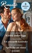 Kärlek under lupp/Ett sensuellt kontrakt/Spela för att vinna