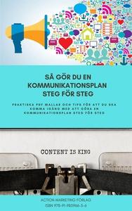 Så gör du en kommunikationsplan steg för steg (