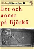 Ett och annat på Björkö. Birkalitteratur nr 6. Återutgivning av text från 1889