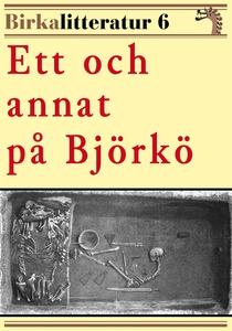 Ett och annat på Björkö. Birkalitteratur nr 6.