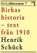 Birkas historia. Birkalitteratur nr 7. Återutgivning av text från 1910