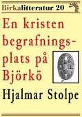 En kristen begrafningsplats på Björkö. Birkalitteratur nr 20. Återutgivning av texter från år 1878 och 1880