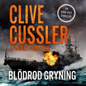 Blodröd gryning (ljudbok) av Clive Cussler