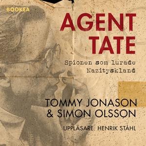 Agent Tate (ljudbok) av Tommy Jonason, Simon Ol