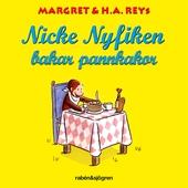 Nicke Nyfiken bakar pannkakor