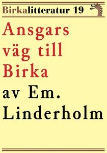 Ansgars väg till Birka. Birkalitteratur nr 19.