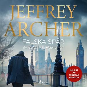 Falska spår (ljudbok) av Jeffrey Archer