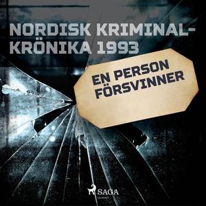 En person försvinner (ljudbok) av Diverse