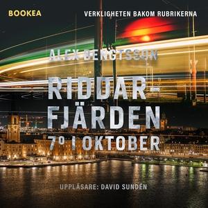 Riddarfjärden 7° i oktober (ljudbok) av Alex Be