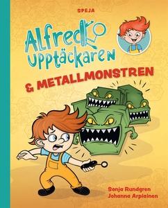 Alfred Upptäckaren och metallmonstren (e-bok) a