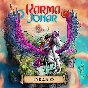 Karma och Jonar: Lyras ö (ljudbok) av Zelda Fal
