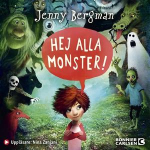 Hej alla monster! (ljudbok) av Jenny Bergman