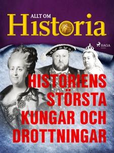 Historiens största kungar och drottningar (e-bo