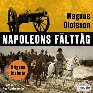Napoleons fälttåg (ljudbok) av Magnus Olofsson