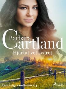 Hjärtat vet svaret (e-bok) av Barbara Cartland