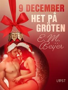 9 december: Het på gröten - en erotisk julkalen
