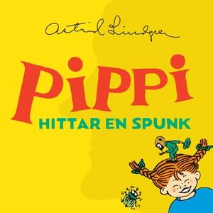 Pippi hittar en spunk (ljudbok) av Astrid Lindg
