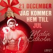 21 december: Jag kommer hem till jul - en erotisk julkalender