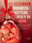 20 december: Midvinternattens skuld är hård - en erotisk julkalender