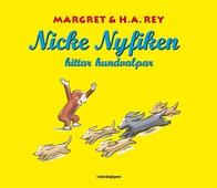 Nicke Nyfiken hittar hundvalper