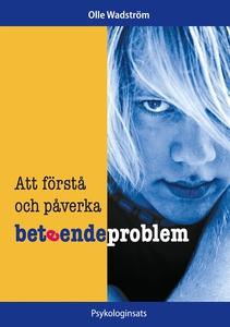 Att förstå och påverka beteendeproblem (e-bok)