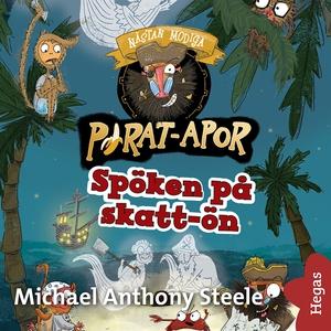 Spöken på skatt-ön (ljudbok) av Michael Anthony