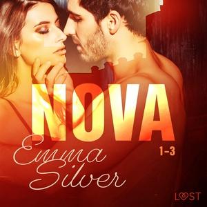 Nova 1-3 - erotic noir (ljudbok) av Emma Silver