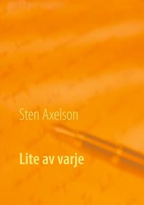 Lite av varje: Novellsamling (e-bok) av Sten Ax