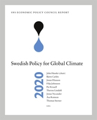 SNS Economic Policy Council Report 2020: Swedish Policy for Global Climate